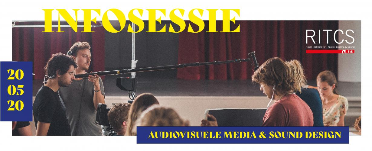 Infosessie Sound Design en Audiovisuele Media