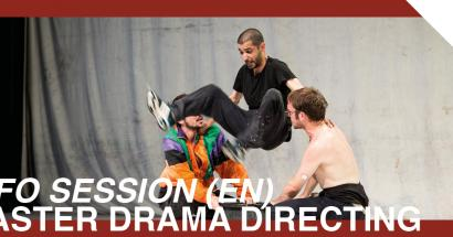 Info Session master drama directiong