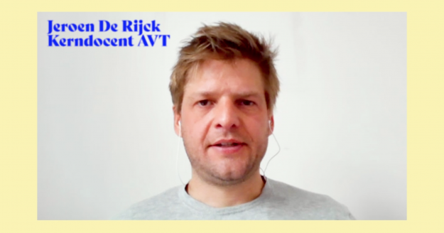Jeroen De Rijck, kerndocent Audio-Video-Technologie RITCS Audiovisuele Media